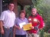 Finančná pomoc od hasičov rodine Štofkovej