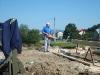 Povodeň, odstraňovacie práce, stavba mosta...