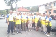 Okresné športové hry seniorov - Sveržov 2012