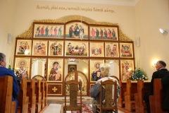 Posviacka zrekonštruovanej cerkvi