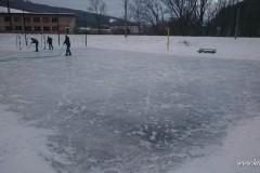 Príprava ľadovej plochy