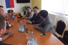 Návšteva veľvyslanca Čínskej ľudovej republiky v SR