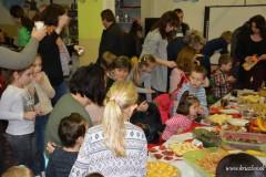 Jesenná besiedka detí z MŠ Kružlov a pohostenie z jesenných plodov od rodičov