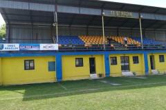 Obnova hracej plochy  a tribúny futbalového ihriska, rekonštrukcia výčapu, výstavba prístrešku v obci Kružlov