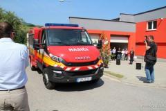 Slávnostné odovzdanie hasičského vozidla