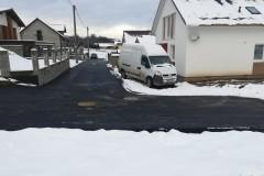 Výstavba cesty na Šelepivky
