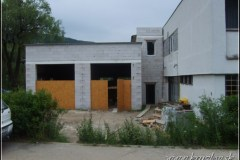 Výstavba požiarnej zbrojnice 2010