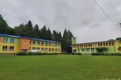 Základná a materská škola Kružlov sa dočkali zmeny palivovej základne z tuhého paliva na zemný plyn - práce práve prebiehajú